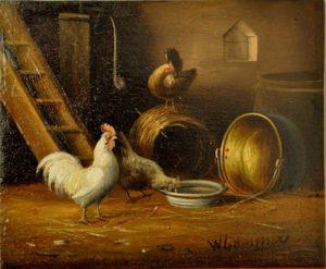 Restauration de tableaux par Marie-Line LANASPEZE