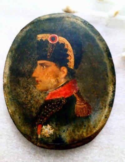 Portrait de Bonaparte - nettoyage