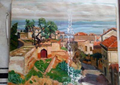 Cap d'Alger - Masticage des lacunes