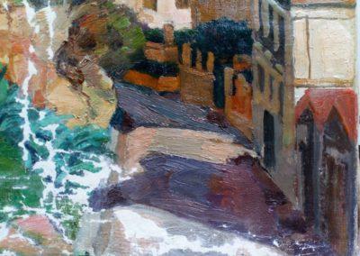 Cap d'Alger - Masticage du coin bas droit