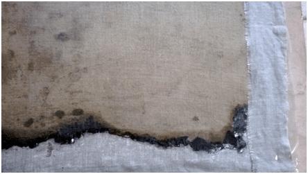 traitement dégât des eaux sur oeuvre d'art