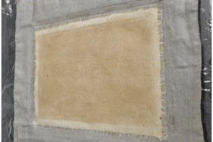 Protection d'une peinture sur châssis